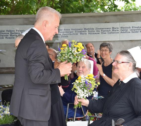 Einweihung der Diakonissen-Gedenkstätte Gallneukirchen